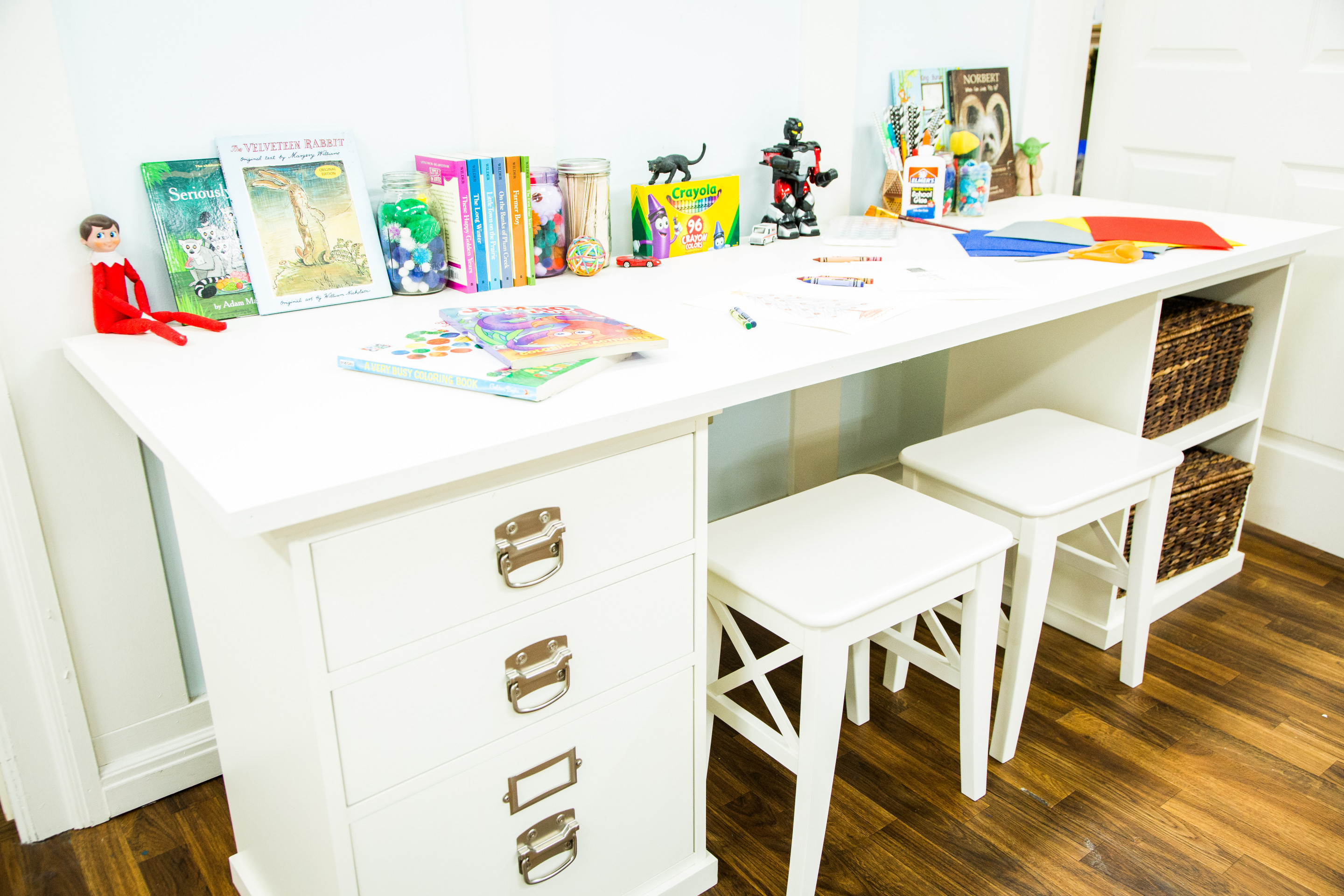 DIY Kids Table  DIY Kids Craft Table Home & Family