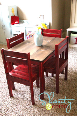 DIY Kids Table  DIY Inspiratio
