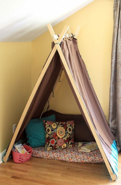 DIY Kids Tent  10 Cool DIY Play Tents For Your Kids