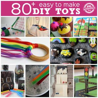 DIY Kids Toys  DIY 80 Easy to Make Toys