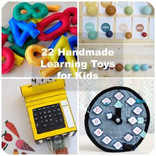 DIY Kids Toys  22 Handmade Learning Games & Toys for Kids