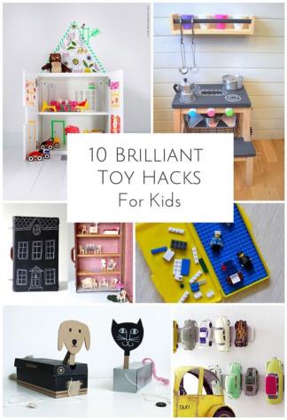 DIY Kids Toys  10 BRILLIANT DIY TOY HACKS FOR KIDS