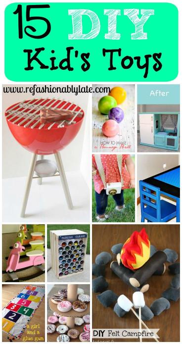 DIY Kids Toys  Best 25 Kids toys ideas on Pinterest