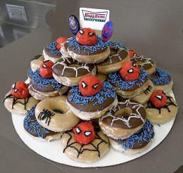 Donut Birthday Cake  Donut Birthday Cake Ideas