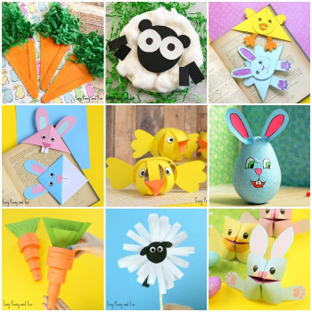 Easter Craft Ideas For Kids  Easter Crafts for Kids Lots of Crafty Ideas Easy Peasy