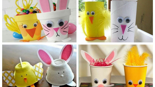 Easter Craft Ideas For Kids  Easter Kids Crafts Ideas Easter Bunny Crafts for Kids