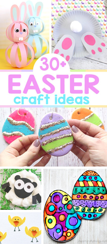 Easter Craft Ideas For Kids  25 Easter Crafts for Kids Lots of Crafty Ideas Easy