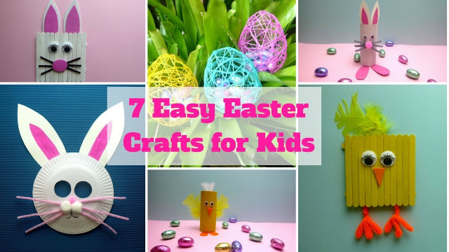 Easter Craft Ideas For Kids  7 Easy Easter Crafts for Kids Easter Craft Ideas