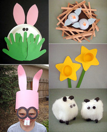 Easter Craft Ideas For Kids  MollyMooCrafts Easter Crafts MollyMooCrafts
