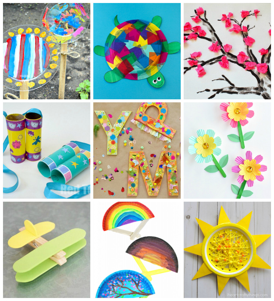 Easy Activities For Kids  50 Quick & Easy Kids Crafts that ANYONE Can Make