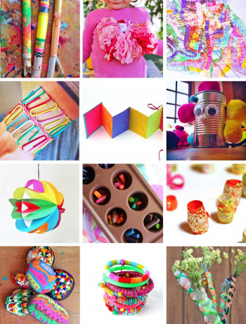 Easy Craft Ideas For Kids At School  80 Easy Creative Projects for Kids Babble Dabble Do