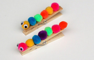 Easy DIY Crafts For Kids  30 Easy Upcycled and Creative DIY Clothespin crafts idea