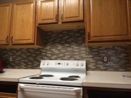 Easy Kitchen Backsplash  Easy Kitchen Mosaic Tile Backsplash Project