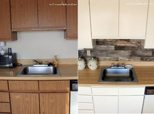 Easy Kitchen Backsplash  Diy Backsplash Ideas For Kitchens