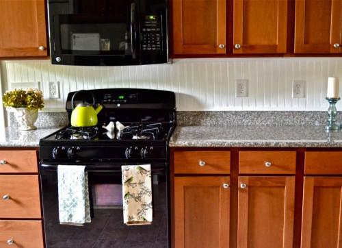 Easy Kitchen Backsplash  Inexpensive Backsplash Ideas 12 Bud Friendly Tile