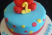 Elmo Birthday Cake Luxury Pink Little Cake Elmo Cake Elmo Cookie Favors and Mini