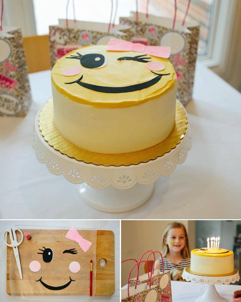 Emoji Birthday Cake  Emoji Birthday Party