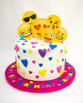 Emoji Birthday Cake  Emoji birthday cake …