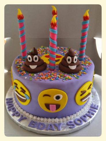 Emoji Birthday Cake  25 best ideas about Birthday cake emoji on Pinterest