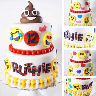 Emoji Birthday Cake  The Best Emoji Cakes