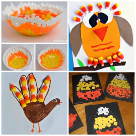 Fall Craft Idea For Kids  Candy Corn Crafts for Kids to Make Crafty Morning