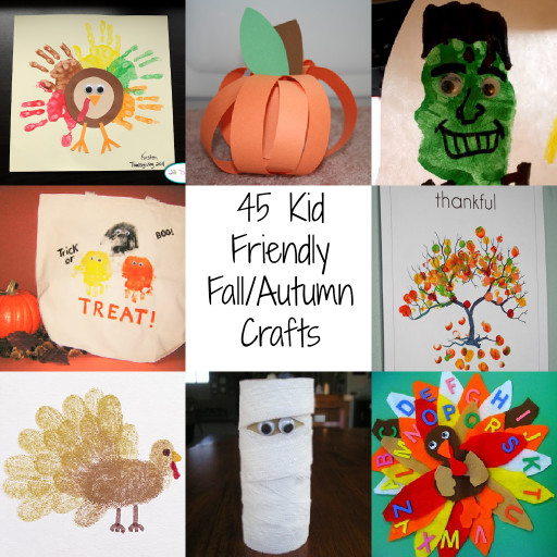 Fall Craft Idea For Kids  45 Kid Friendly Fall Autumn Crafts A Spectacled Owl