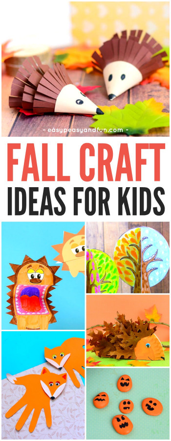 Fall Craft Idea For Kids  Fall Crafts For Kids Art and Craft Ideas Easy Peasy
