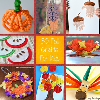 Fall Craft Idea For Kids  kids craft ideas for fall that are awesome quick and easy