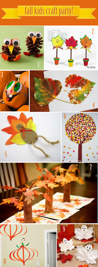 Fall Craft Idea For Kids  9 Fall Craft Ideas For Kids