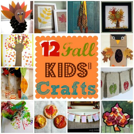 Fall Craft Idea for Kids Luxury 12 Fall Kids Crafts