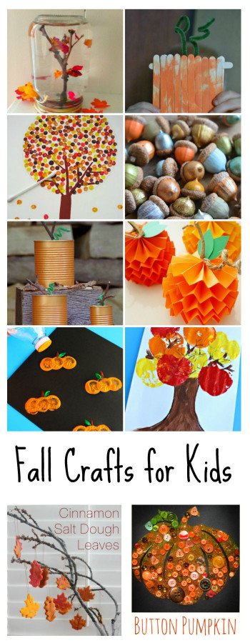 Fall Craft Idea For Kids  Fall Crafts for Kids The Idea Room