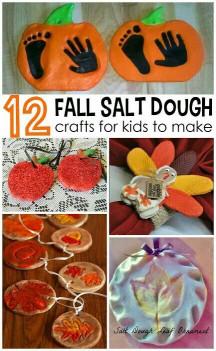 Fall Craft Idea For Kids  dough ornaments craft