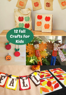 Fall Crafts Ideas For Kids  12 Fun Fall Crafts For Kids diycandy