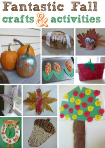 Fall Crafts Ideas For Kids  Fall Crafts For Kids