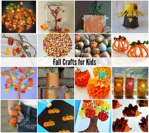 Fall Crafts Ideas For Kids  Acorn Craft Ideas The Idea Room