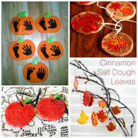 Fall Crafts Ideas For Kids  Fall Salt Dough Ornaments & Craft Ideas Crafty Morning