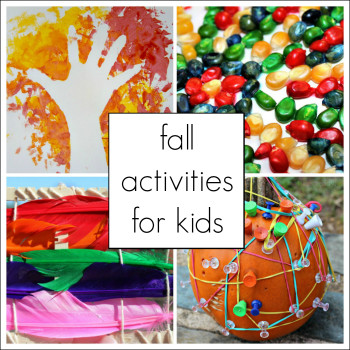 Fall Crafts Ideas For Kids  60 Engaging and Playful Fall Activities for Preschoolers