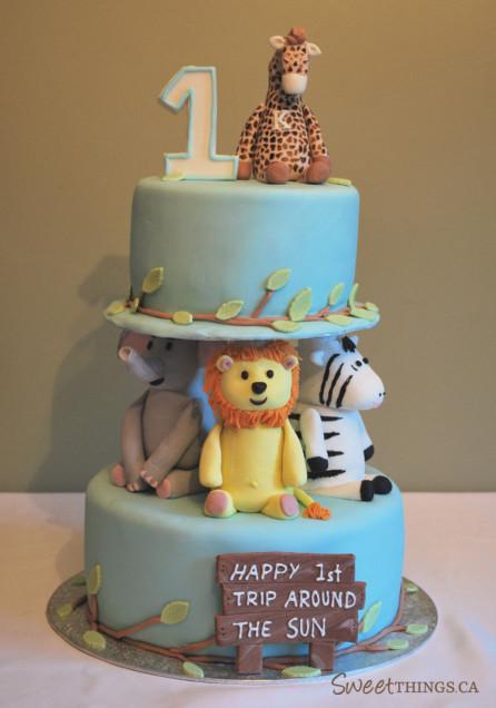 First Birthday Cake  SweetThings 1st Birthday Cake