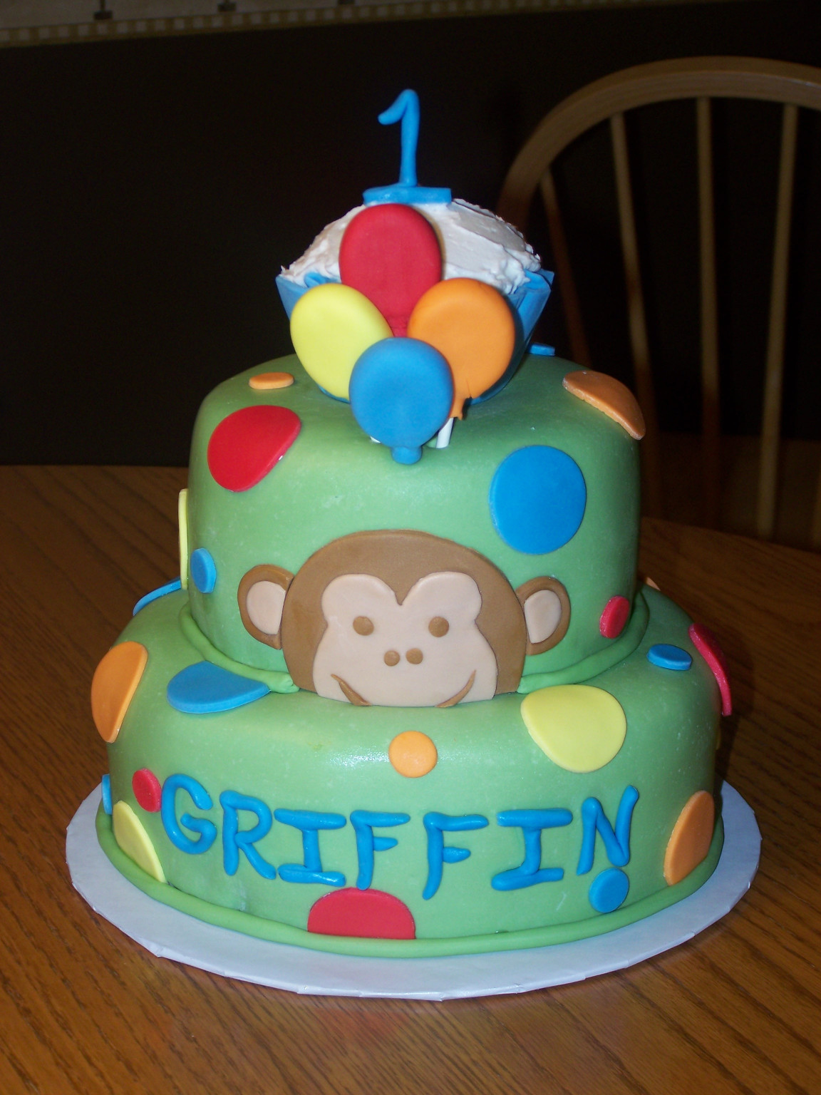 First Birthday Cake  1st Birthday Cake