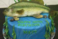 Fish Birthday Cake Awesome 15 Fishing or Hunting themed Cakes to Help Celebrate In Style