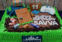 Fortnite Birthday Cake Elegant fortnite Gamer Cake