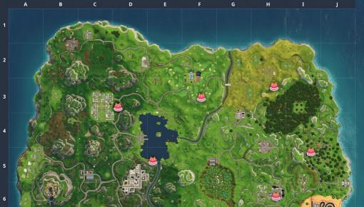Fortnite Birthday Cake Map  39 Inspirational Birthday Cake Fortnite Map Location