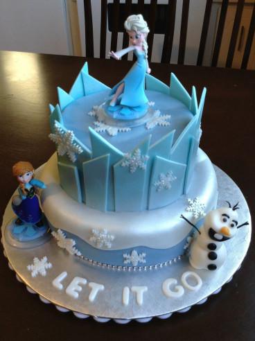 Frozen Birthday Cake  Best 25 Frozen cake ideas on Pinterest