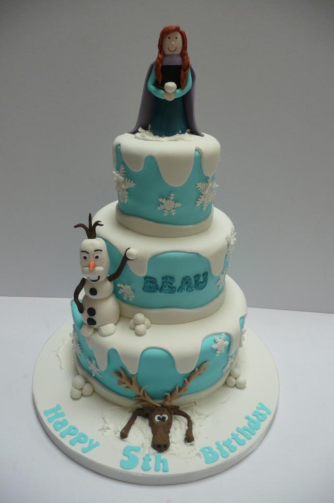 Frozen Birthday Cake  Birthday cakes