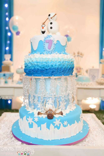 Frozen Birthday Cake  8 of the Coolest Frozen Birthday Cakes Ever