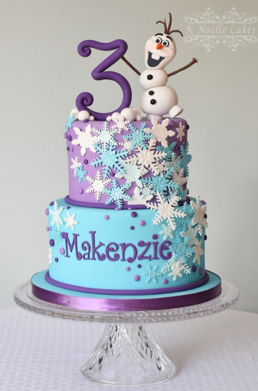 "Frozen Birthday Cake  Cake Inspiration ""Frozen"""