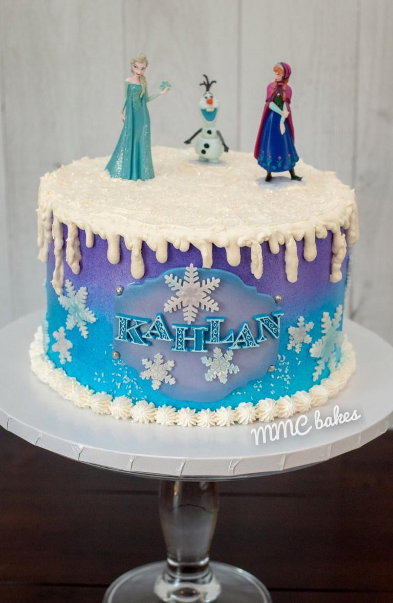 Frozen Birthday Cake  Frozen Birthday Cake – MMC Bakes