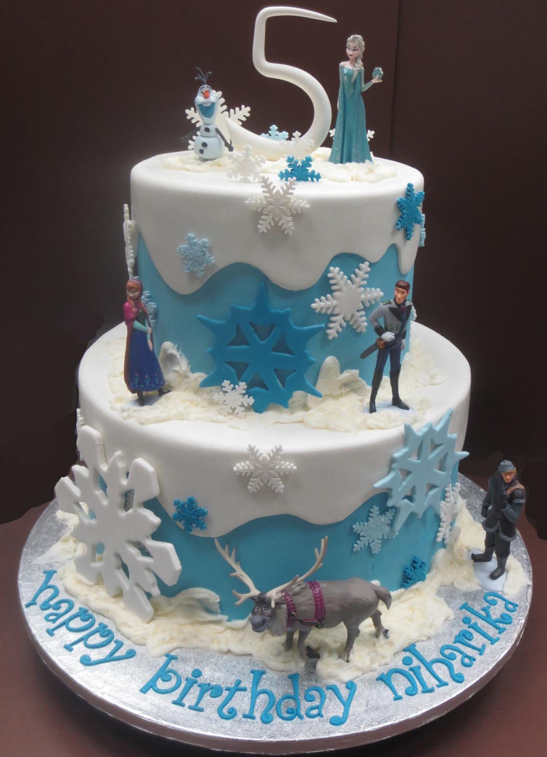 Frozen Birthday Cake  August 2014