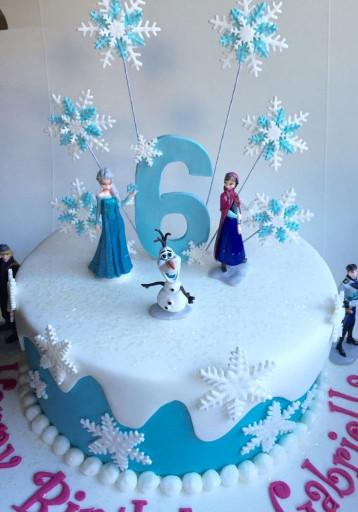 Frozen Birthday Cake  Fantasizing Frozen Birthday Party Ideas along with
