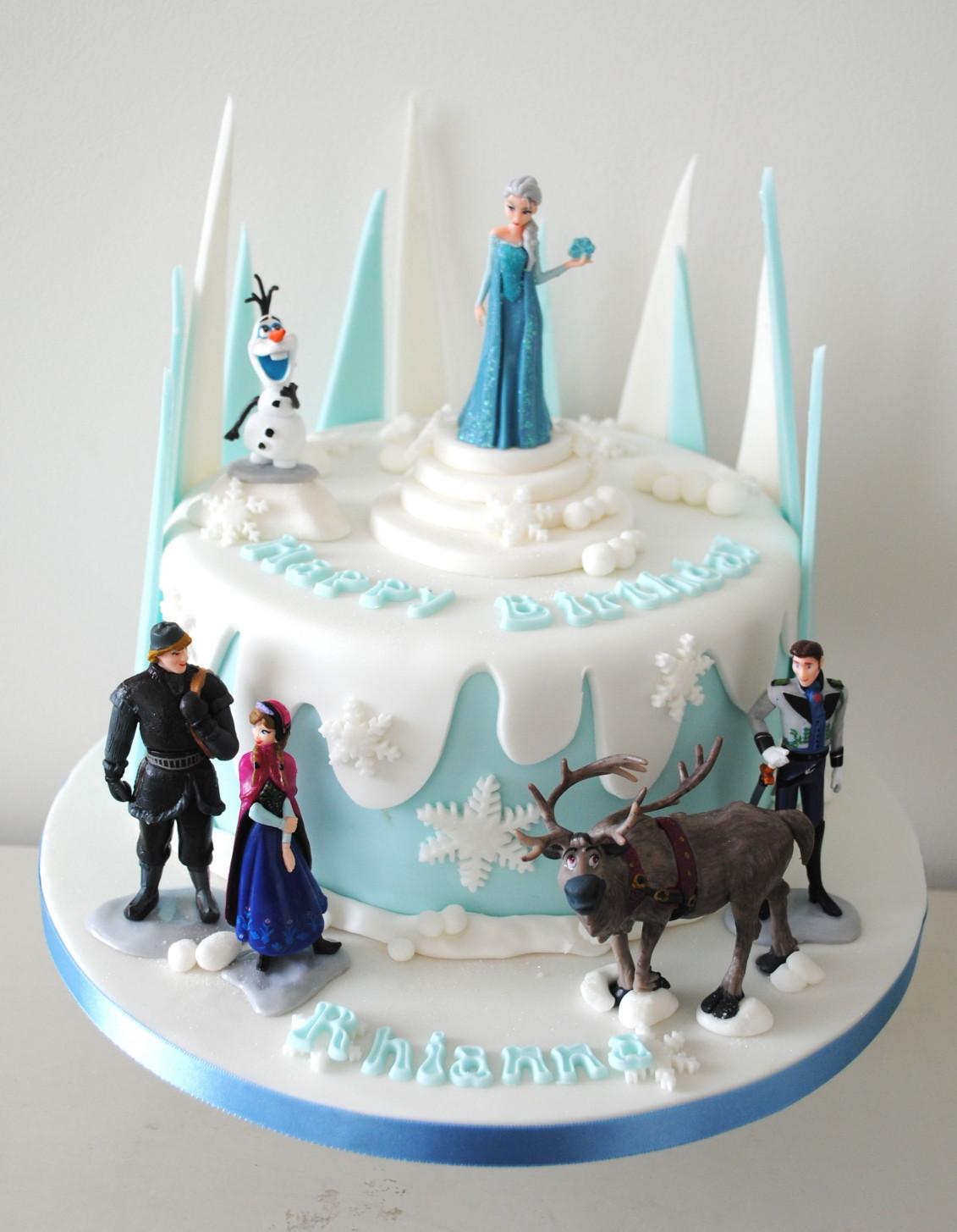 Frozen Birthday Cake  frozen birthday cake Google Search …